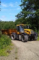 Woodchipper Machinery Hire Haverfordwest and Pembroke